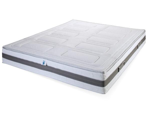 materasso con topper removibile levante
